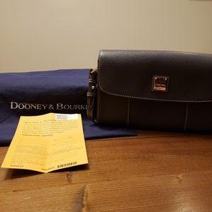 Dooney & Bourke Saffiano Leather Casey Clutch